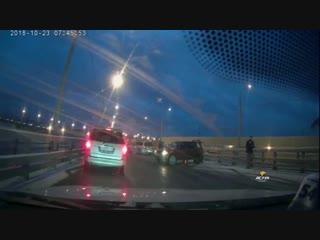 ДТП на Бугринском мосту