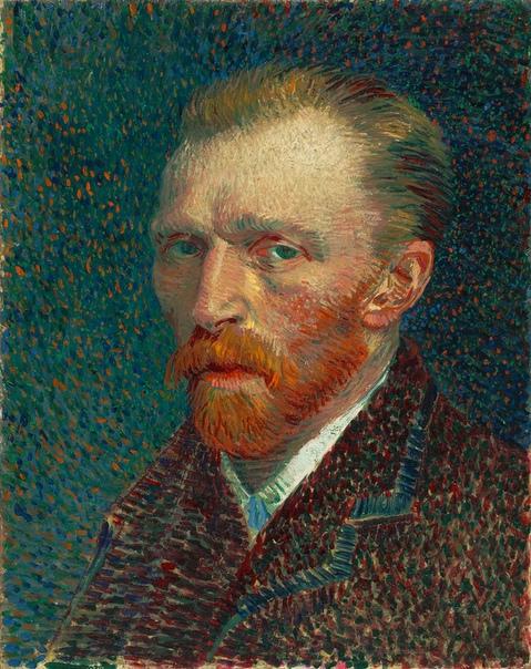 Ван Гог сутками рисовал, ведрами пил абсент, отрезал себе левое ухо и написал автопортрет(картинка справа) в таком виде, а в возрасте 37 лет покончил жизнь самоубийством. После его смерти,