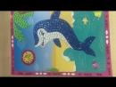 Волшебная мозаика Каляка-Маляка Дельфин