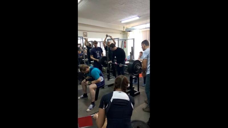187,5 Открытый чемпионат г. Евпатория по пауэрлифтингу