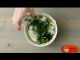Салат с луком и огурцом