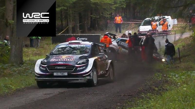WRC Dayinsure Wales Rally GB 2018 Shakedown Highlights