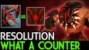 Resolution [Bloodseeker] What a Counter! Close Game 7.18 Dota 2