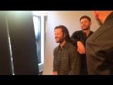 Джаред, Дженсен и Миша Коллинз на фотосессии для Entertainment Weekly