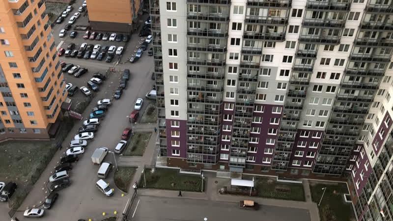 Привокзальная дом 3.3. ч.1 Вид с этажа