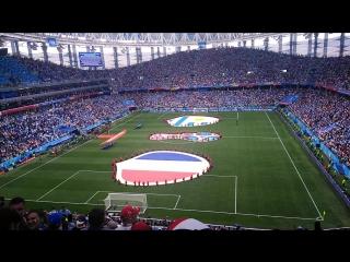 Перед матчем Франция-Уругвай