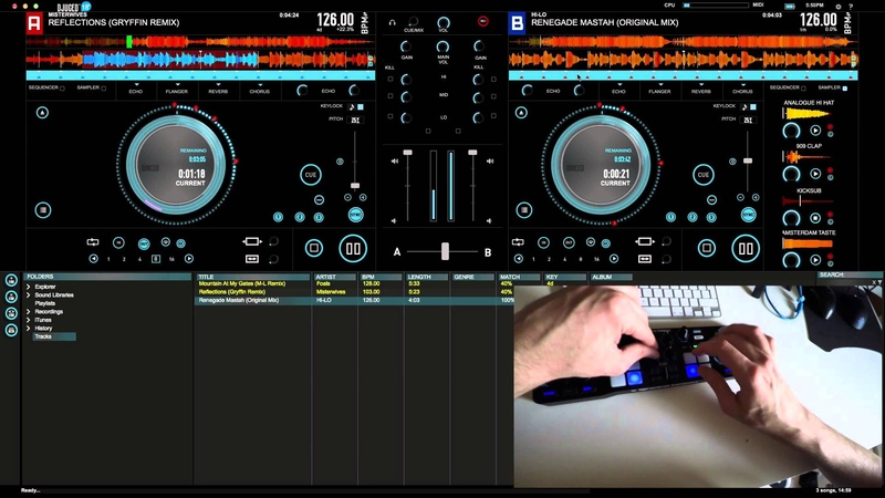 HERCULES DJ COMPACT AND DJUCED 18 - LIVE DEMO PERFORMANCE