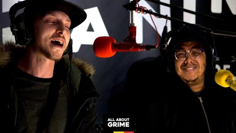 SOX b2b Manga Saint Hilare freestyle for I SON All About Grime radio show