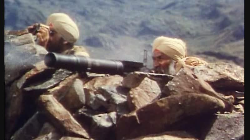 Барабан (1938) Разгром английскими колониальными частями индийских повстанцев