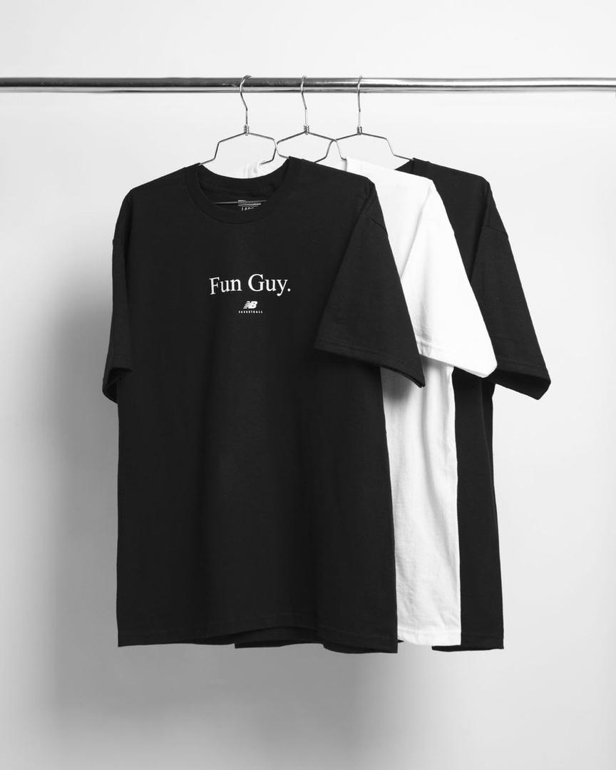 New Balance выпустил специальные футболки для Кавая Леонарда
