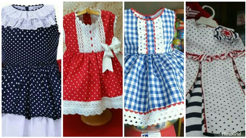 Sewing dressdesigneasy making home made baby frock designs 20182019new kids collection