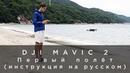 DJI Mavic 2 Первый полёт инструкция на русском