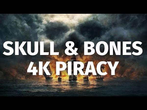 25 Minutes of Skull Bones in 4K | E3 2018 Ship Battles