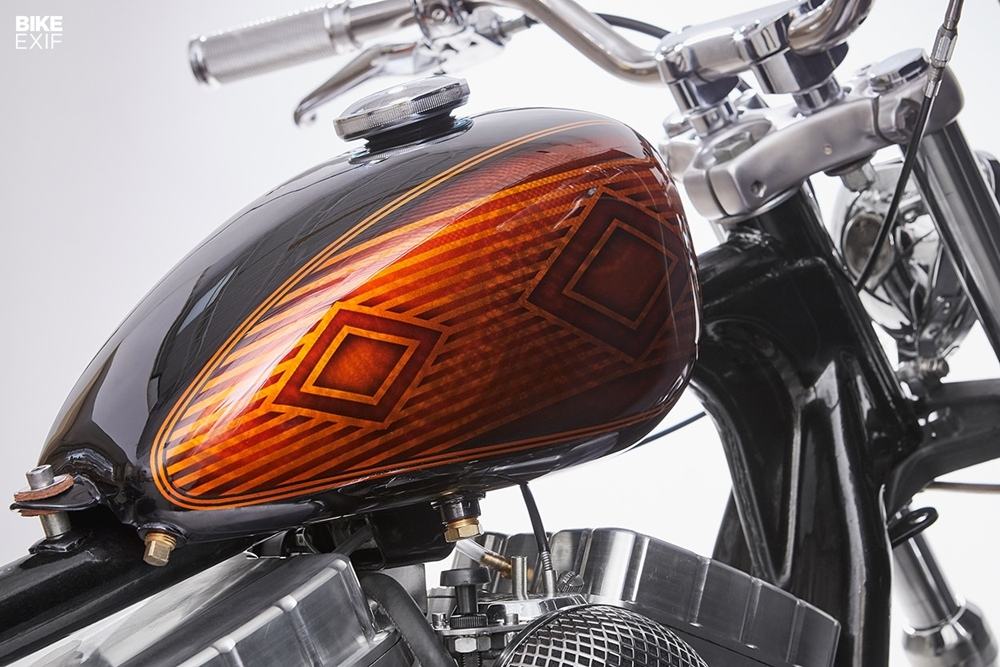 Augment Collective: боббер Harley-Davidson Sportster