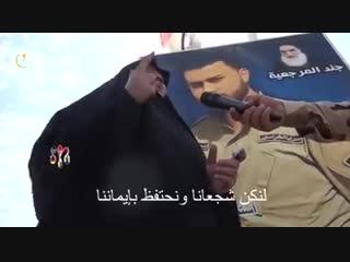 Türkəmən şəhid anasının arifanə sözləri