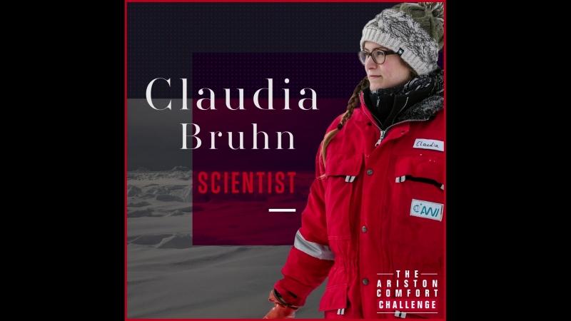 THE ARISTON COMFORT CHALLENGE | Научный сотрудник Claudia Bruhn