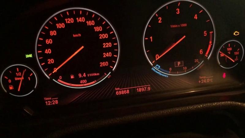 BMW X3 (F25) проверка честного пробега