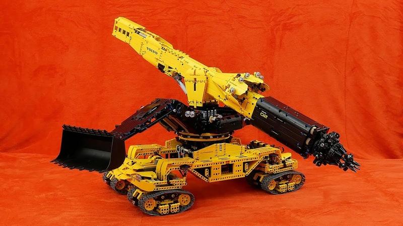 Lego Technic Volvo Mars Mission