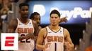 Devin Booker takes over Deandre Ayton impresses in debut as Suns win vs Mavericks NBA Highlights