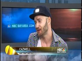 CAZWELL chats with NBC Bay Area KNTV!