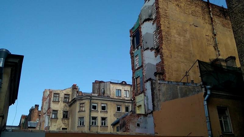 Демонтаж здания Клинский пр., 25 (июль 2018)