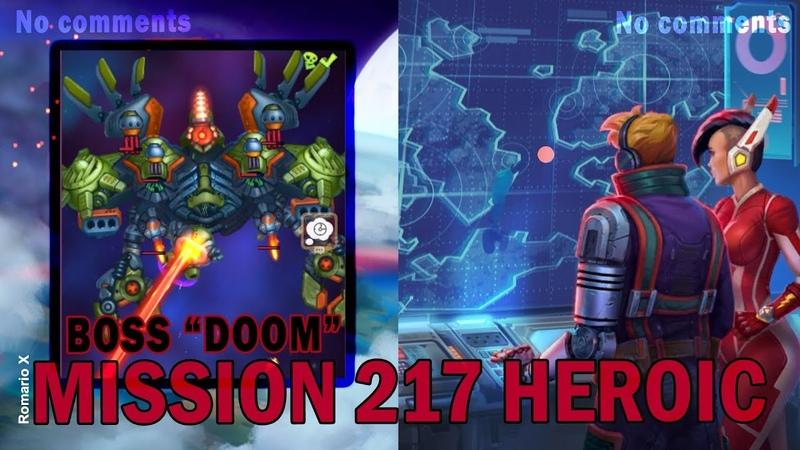 Hawk: Freedom Squadron. MISSION 217. HEROIC. BOSS DOOM