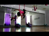 #flyyoga #flystratching #гамак #yogaflow #yoga #петля #танецвпетле #танецвгамаках #акройога #антигравитация #antigravityyoga #an