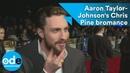 Outlaw King: Aaron Taylor-Johnson's Chris Pine bromance