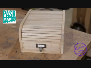 Homemade Tambour Box - Scrapwood Challenge Episode Fifteen