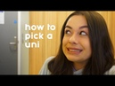 How to pick a university! My tips and advice Noo