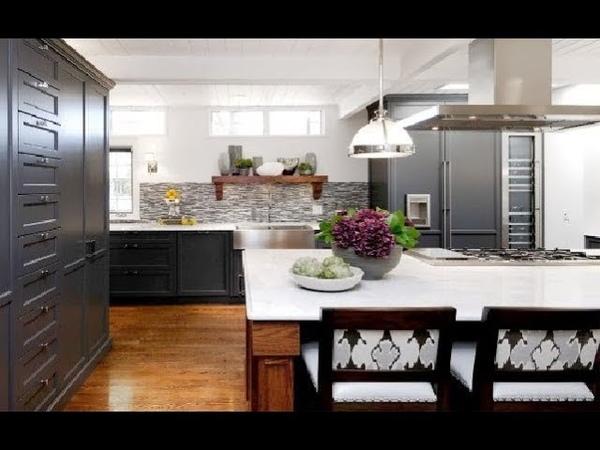 Современный интерьер кухни: более 100 идей