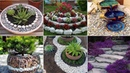65 gorgeous and creative flower bed ideas using rocks and stones