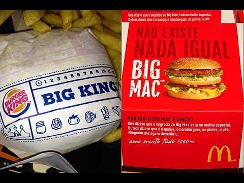 McDonald's vs Burger King: Big Mac или Big King?