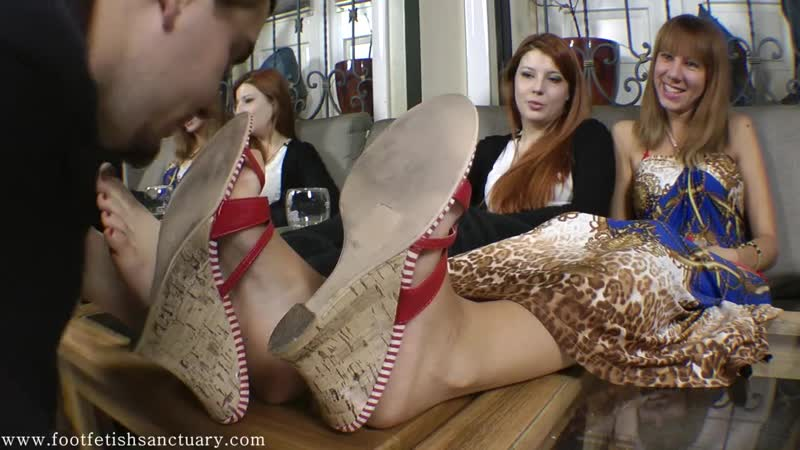 Humiliation - Licking shoes feet