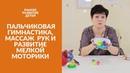Пальчиковая Гимнастика, Массаж Рук и Развитие Мелкой Моторики