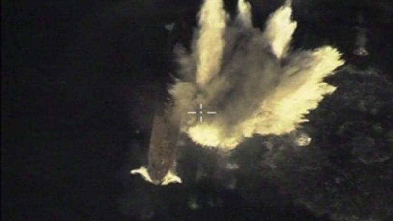 Атомная подлодка «Томск» поразила цель крылатой ракетой