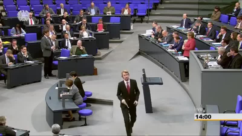 😉 Dr- Bernd Baumann -AfD- an Merkel- -Was ist aus ihrer nationalen Kraftanstrengung geworden--
