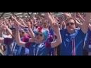 """""""HUH IN MOSKAU: Hier bringen sich die Island-Fans in Stimmung"""