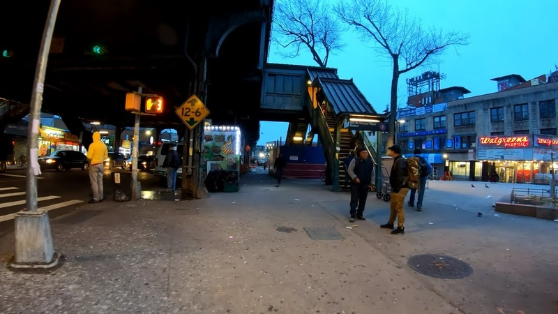 ⁴ᴷ⁶⁰ Walking NYC (Narrated) : Early Morning Walk from Woodside to Flushing Meadows Corona Park