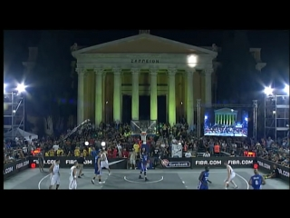 FIBA 3x3 World Cup 2012 - FINAL: Serbia VS. France (Athens, Greece; 2012)