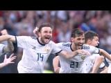 Футбольный гимн в исполнении голосят