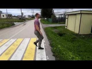 Современный пешеходный переход по ГОСТу