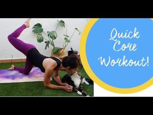 Быстрая тренировка кора пилатес. Anges Pilates Quick Core Workout!