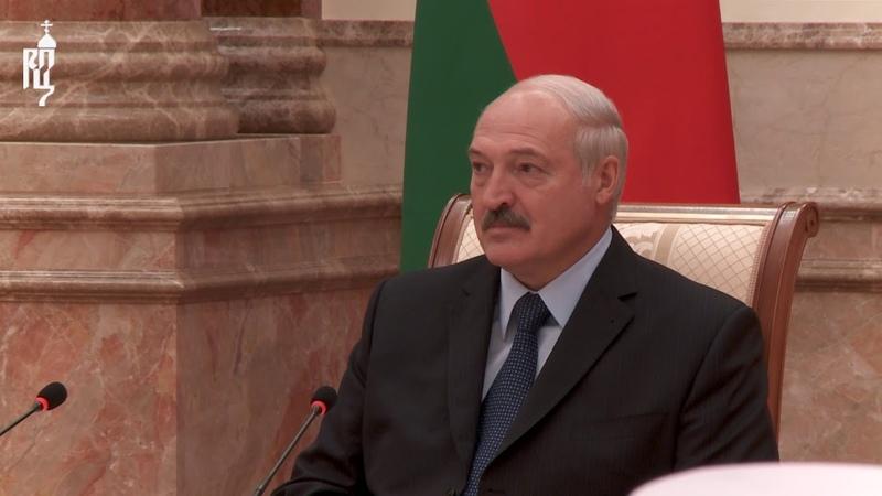 Члены Священного Синода встретились с Президентом Республики Беларусь