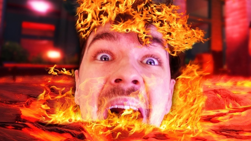 THE FLOOR IS LAVA | Hot Lava