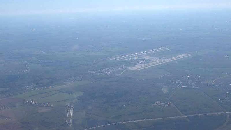 Аэропорт Домодедово с высоты 2017 г