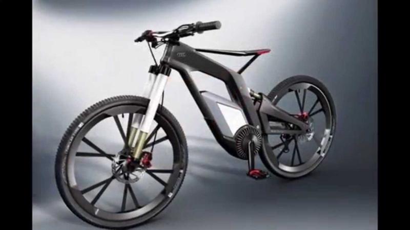 Audi спортивный велосипед!КРУЧЕ автомобиля