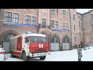 Кадеты побывали с экскурсией в пожарной части