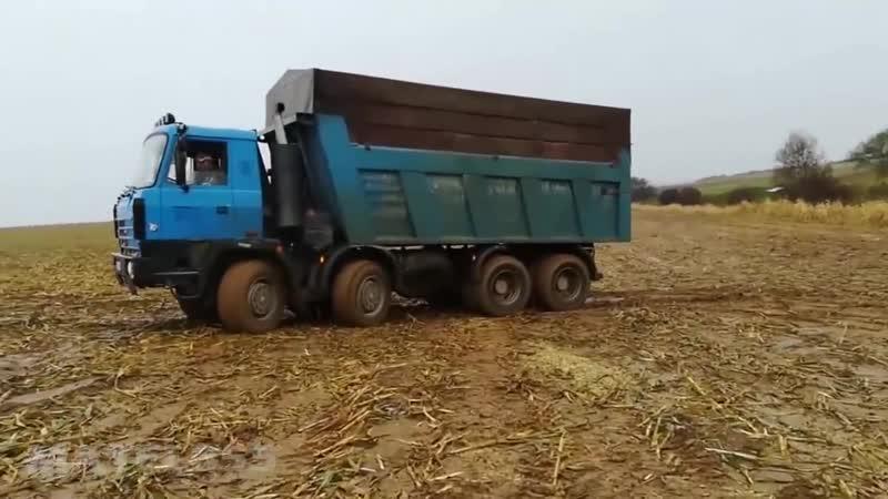 Полноприводные грузовики 8x8, 8x6 MAN, TATRA, IVECO, MERCEDES на бездорожье