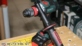 Metabo BS 18 LTX-3 BL Q I / Не имеющий аналогов 3-х скоростной шуруповерт